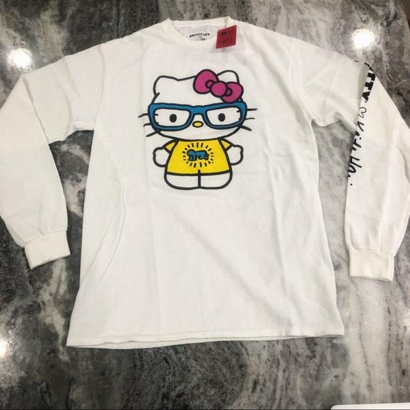 d88c6bf29 Hello Kitty Tops | X Keith Haring Long Sleeve Tee | Poshmark